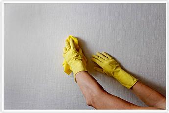 بهترین روش نظافت دیوار ها!