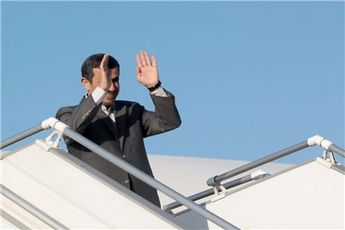 حضور هیئت ۱۰۰ نفره همراه رئیس جمهور در سفر به روسیه