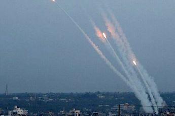 ۱۹۰ موشک از غزه به سمت «اسرائیل» شلیک شده است