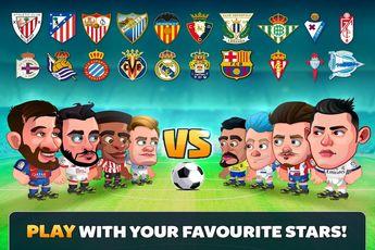 اپ رسمی لیگ فوتبال اسپانیا / بازی Head Soccer LaLiga ۲۰۱۷ / دانلود