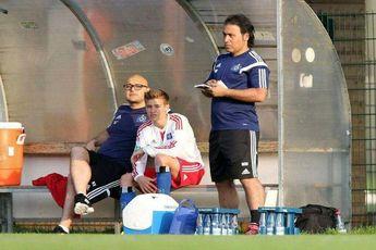 تصویری از مهدویکیا که حالا مربی تیم زیر 21 سالههای هامبورگ است