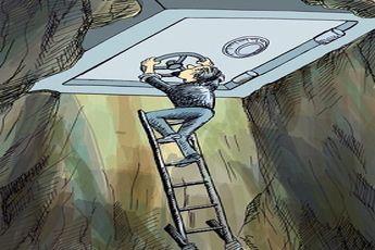 کاریکاتور / آزاد شدن داراییهای بلوکه شده ایران