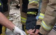 محبوس شده 10 نفر به دلیل ریزش آوار در شهرستان آزادشهر