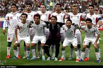 بازیکنان ایران و کره وارد زمین شدند