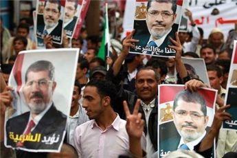 اعتراضات گسترده هواداران محمد مرسی در قاهره