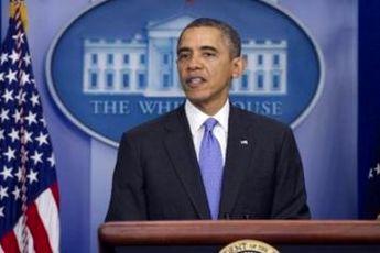 آخرین کنفرانس خبری اوباما در سال ۲۰۱۳