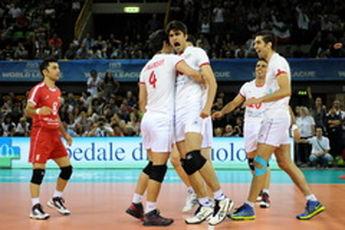 ملیپوشان والیبال ایران مقابل کوبا سفید میپوشند