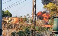 لبنان در آتش