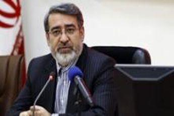 بازدید وزیر کشور از پلیس راه شهرستان میاندرود
