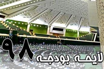 بررسی بودجه 98 در صحن مجلس