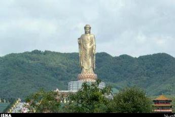 بلندترین مجسمه جهان در چین + عکس