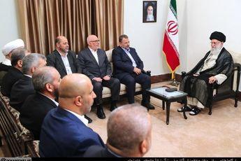رهبر انقلاب: موضوع فلسطین قطعاً به نفع مردم این کشور و دنیای اسلام تمام خواهد شد