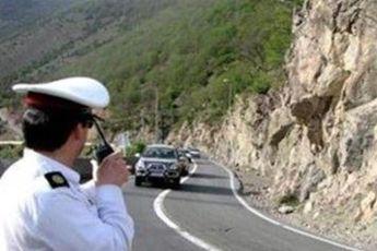 تردد خودرو در محور هراز ممنوع شد