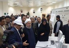افتتاح رسمی فازهای ۱۳، ۲۲، ۲۳ و ۲۴ پارس جنوبی با حضور رئیسجمهور
