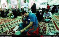 عکس: شب آرزوها در حرم عبدالعظیم(ع)