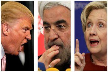 تحریم ایران در سیاست کلینتون و ترامپ
