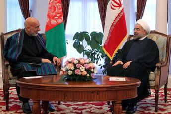روسای جمهوری ایران، افغانستان و تاجیکستان در کابل دیدار کردند