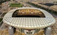 افتتاح ورزشگاه مدرن فولاد