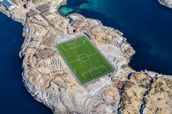 زیباترین زمین فوتبال جهان / عکس