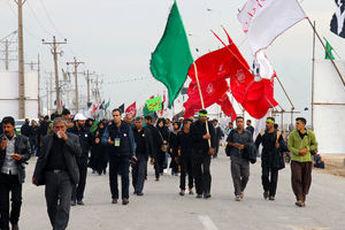 آمار زائرین ایرانی در پیاده روی  اربعین