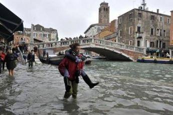 ایتالیا زیر آب رفت + فیلم