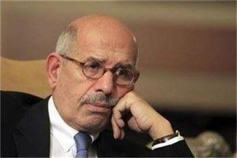 محمد البرادعی سخنگوی مخالفان دولت مصر