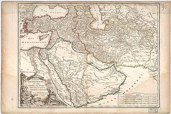 نقشه خلیج فارس در 5 قرن پیش/عکس