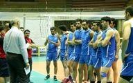 نخستین تمرین تیم ملی والیبال در وارنا برگزار شد