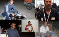 ملی پوشان و قهرمانانی که غم نان دارند